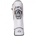 Joya FIGHT FAST Shinguard (Leather) White